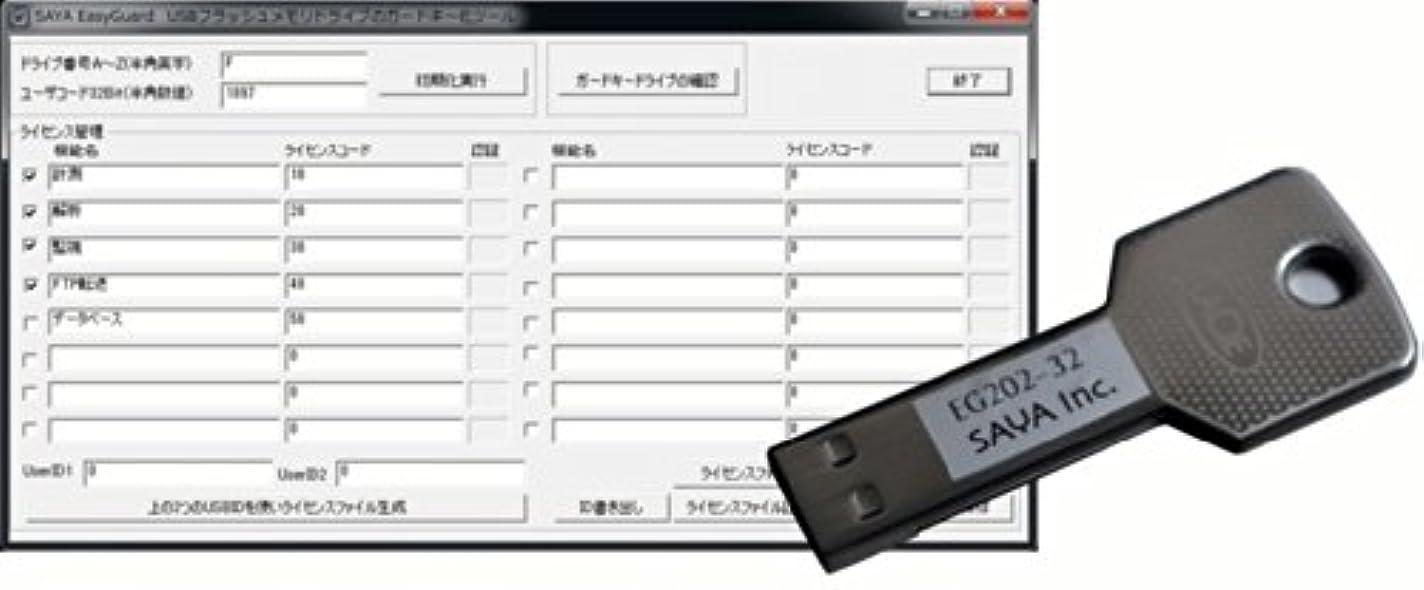 計器全く美徳ガードキー生成ソフトウェア EasyGuard EG202HS-32