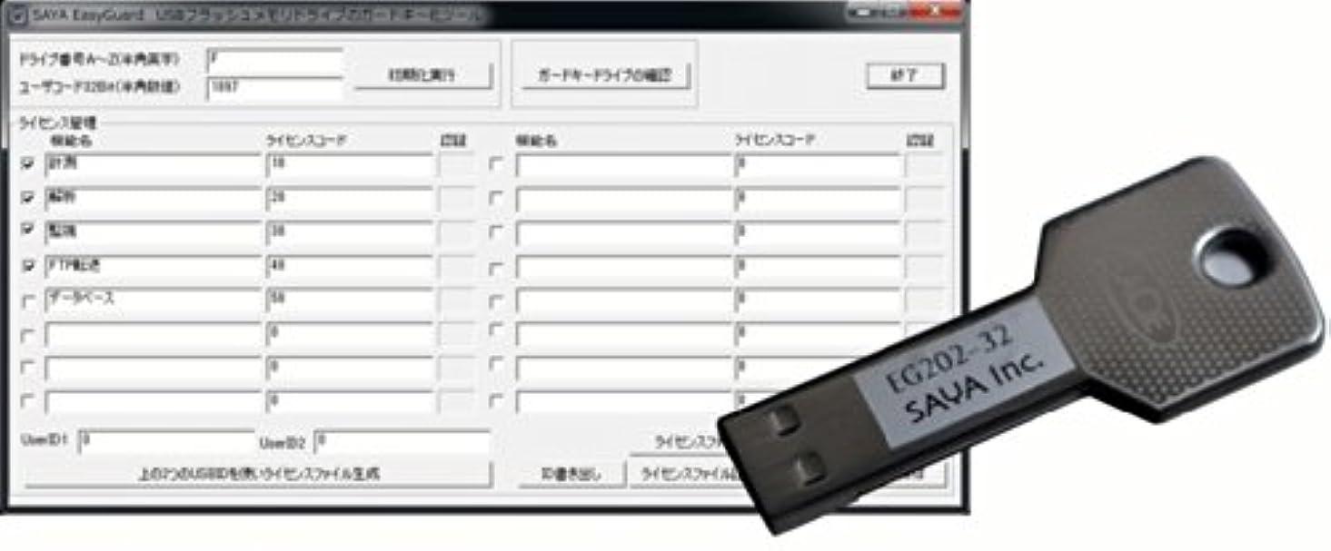 キュービック製品慈悲深いガードキー生成ソフトウェア EasyGuard EG202HA-6432