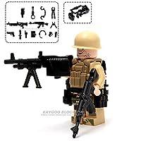 CBPP市警察軍事特殊部隊兵士レンガフィギュア銃武器互換 Legoings 武装 SWAT ビルディングブロック Ww2 おもちゃおもちゃの車のる