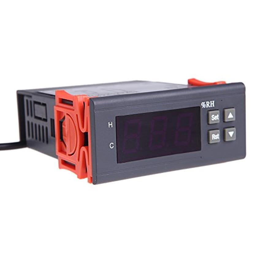 クラシックに対応する不合格Wunes - センサとレンジの1%~99%RHの測定10A 220Vデジタル温度コントローラー空気湿度コントローラー温度計測器