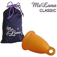 【一般医療機器】月経カップ メルーナ 取り出しやすいリング型・クラシック・オレンジ (Sサイズ)