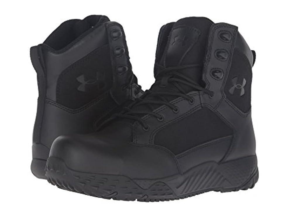 宇宙の獲物流星(アンダーアーマー) UNDER ARMOUR メンズブーツ?靴 UA Stellar Tac Protect Black/Black 13 (31cm) D - Medium