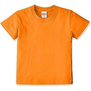 (ユナイテッドアスレ)UnitedAthle 5.6オンス ハイクオリティー Tシャツ 500102 [キッズ] 064 オレンジ 110