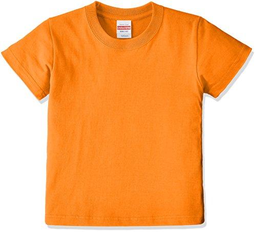 (ユナイテッドアスレ)UnitedAthle 5.6オンス ハイクオリティー Tシャツ 500102 [キッズ] 064 オレンジ 130