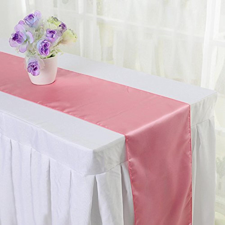 xlp テーブルランナー テーブルクロス 結婚式 パーティー装飾 無地 インテリア
