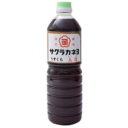 吉村醸造サクラカネヨ 上淡 1L