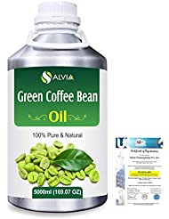 Green Coffee Bean (Coffer) arabica)100% Natural Pure Carrier Oil 5000ml/169 fl.oz.