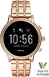 [フォッシル] 腕時計 タッチスクリーンスマートウォッチ ジェネレーション5 FTW6035 レディース 正規輸入品 ピンクゴールド