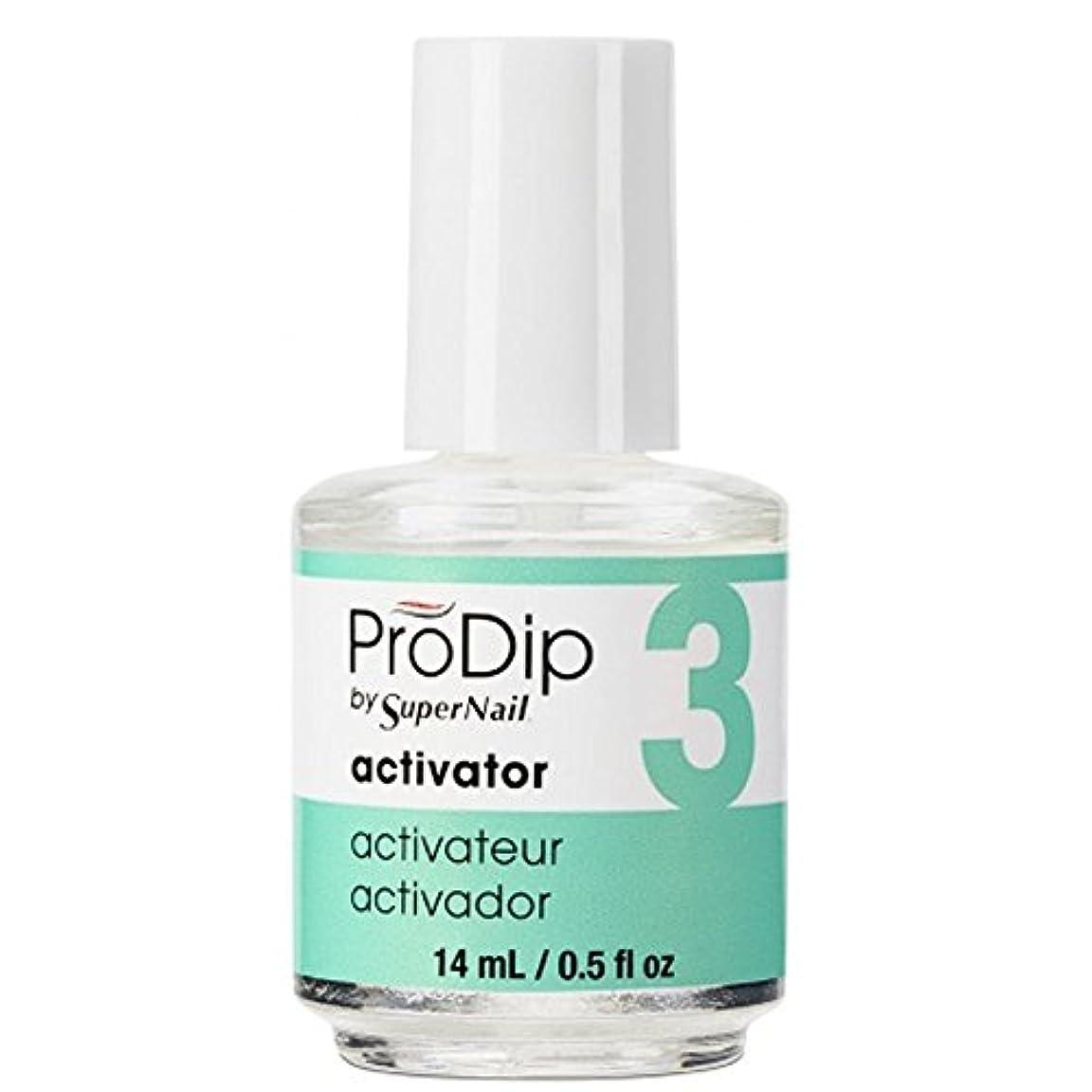 可能にする雷雨用心するSuperNail ProDip - Activator - 14 ml/0.5 oz
