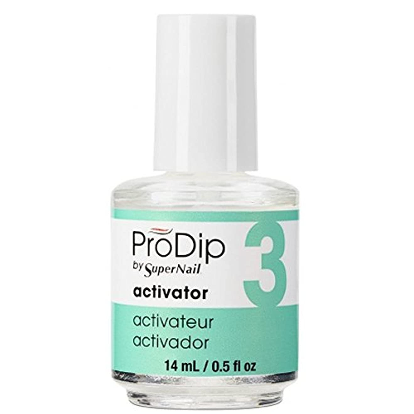 横向き静かなうまれたSuperNail ProDip - Activator - 14 ml/0.5 oz