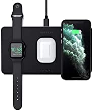 Satechi Trio Wireless Charging Pad - Qi-Certified - Compatible with iPhone 11 Pro Max/11 Pro/11, AirPods Pro,