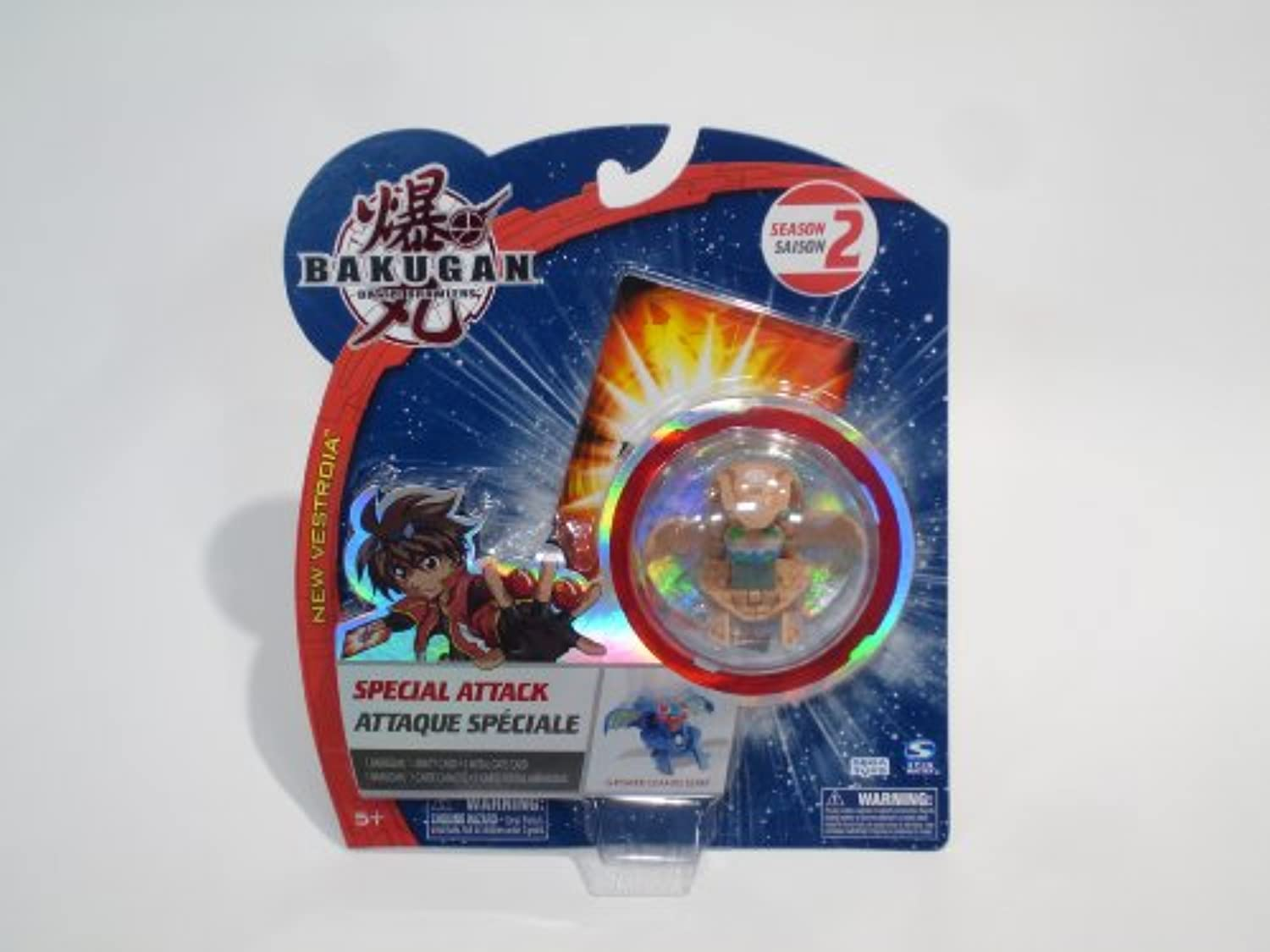 Bakugan Special Attack g-power変更ElfinタンFactory Sealed [おもちゃ]