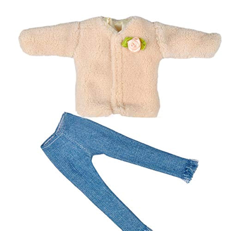 RaiFu 人形服 子供 29センチメートルバービー人形のため マルチスタイル ミニ服 パンツ トップ おもちゃ #1