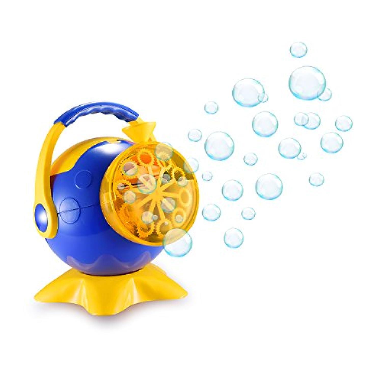 スーパーバブルマシーン 子供バブルマシン シャボン玉製造機 子供のおもちゃ しゃぼん玉発生機 電動 亲子活动 タコ キャンプで遊ぼう! シャボンダマシーン 外遊び?プール?アウトドア(タコ)