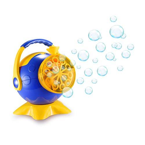 スーパーバブルマシーン 子供バブルマシン シャボン玉製造機 子供のおもちゃ しゃぼん玉発生機 電動 亲子活动 タコ キャンプで遊ぼう! シャボンダマシーン 外遊び・プール・アウトドア(タコ)