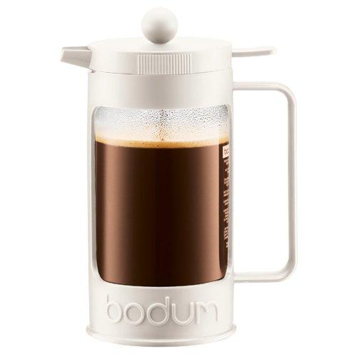 【正規品】 BODUM ボダム BEAN フレンチプレスコーヒーメーカー 1.0L オフホワイト 11376-913