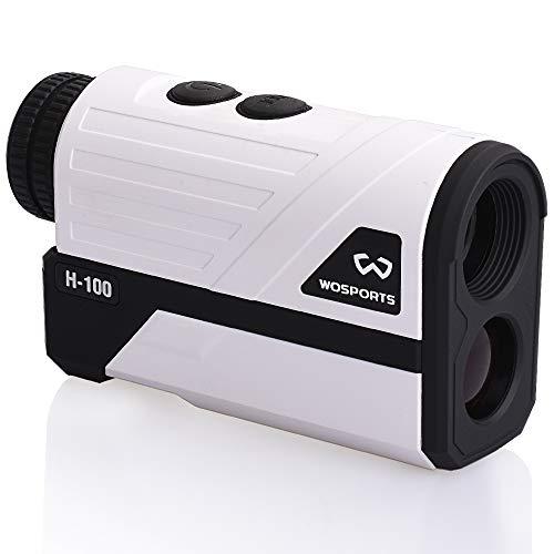 レーザー距離計 1m~600m ゴルフ用 距離測定器 ゴルフスコープ 計測器 光学6倍望遠 携帯型レーザー距離計 11つのモード 速度測定 連続測定軌道補正 角度データ生活防水程度など コンパクト 収納ケース付き 携帯に便利 (電池式)