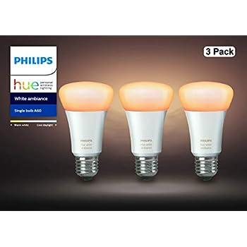 【アウトレット品】Philips Hue ホワイトグラデーション シングルランプ(電球色~昼光色) 3個セット| E26スマートLEDライト3個 |【【Amazon Echo、Google Home、Apple HomeKit、LINE対応】