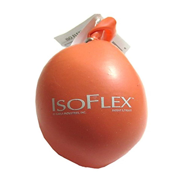 静めるスロープ広告Isoflex Tangerine Stress Ball Handマッサージャー