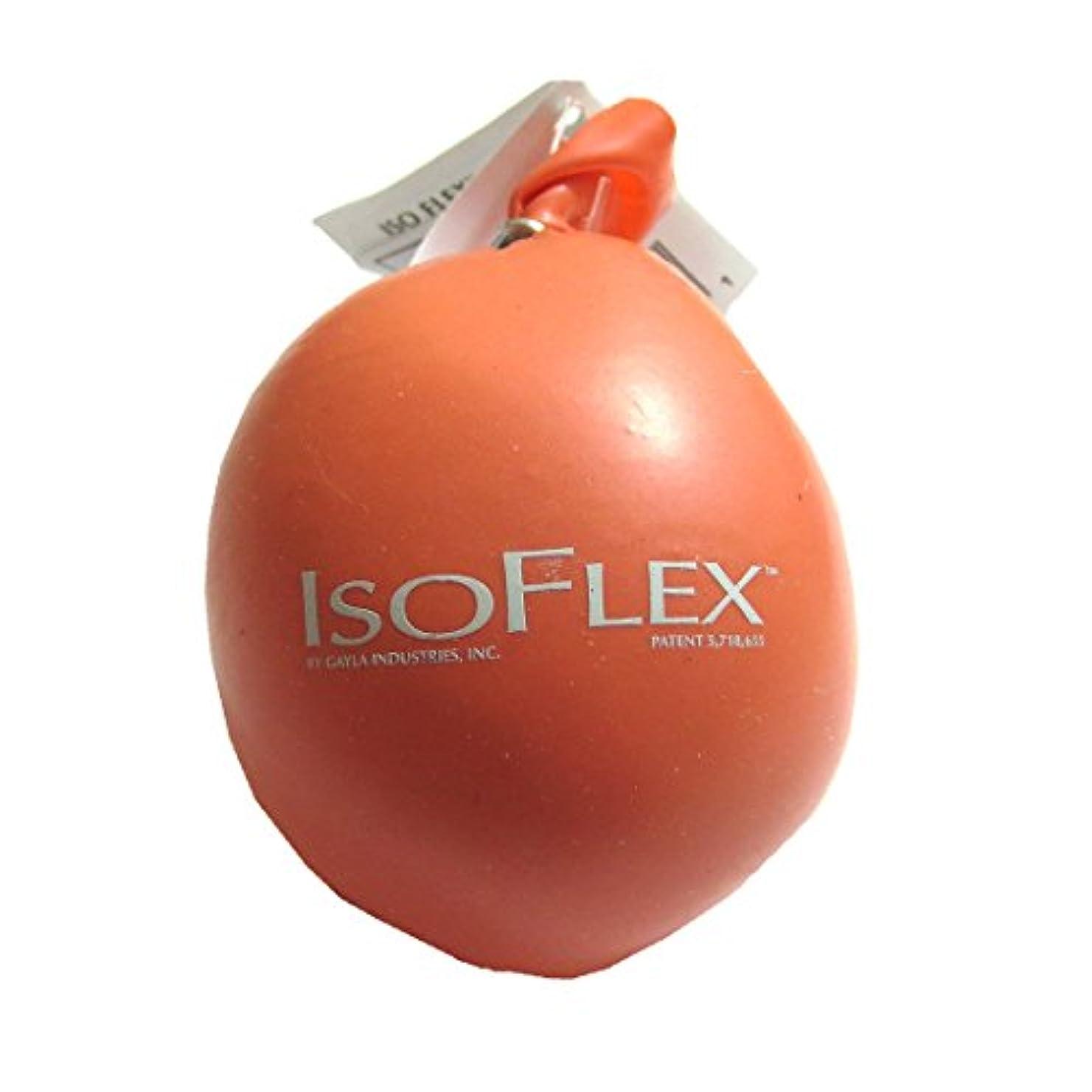 落ち着く公園リズミカルなIsoflex Tangerine Stress Ball Handマッサージャー