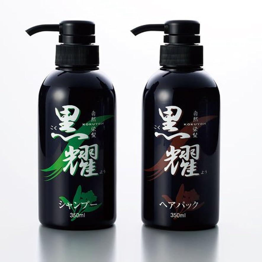 洗剤貫通するこどもの宮殿白髪染め 黒耀シャンプーQS&黒耀ヘアパックQS