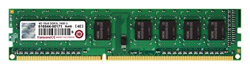 デスクトップPC用メモリ PC3L-12800 DDR3L 1600 4GB 1.35V(低電圧) - 1.5V 両対応 240pin DIMM TS512MLK64W6H