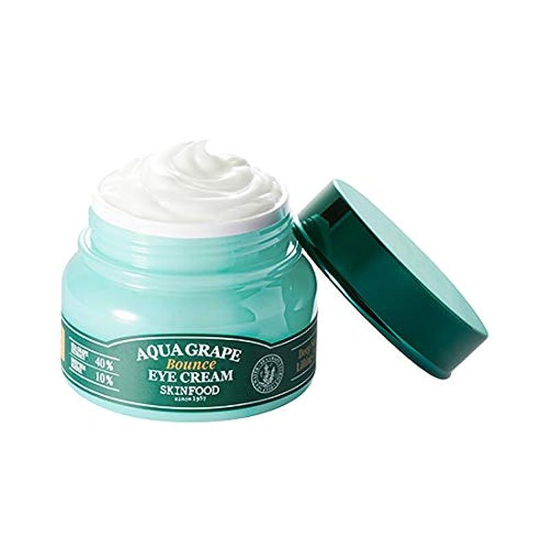 展示会自信がある学期Skinfood Aqua Grape Bounce Eye Cream/アクアグレープバウンスアイクリーム/30g [並行輸入品]