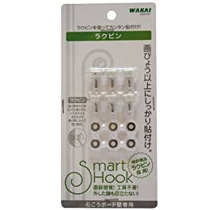 WAKAI 石こうボード用ラクピン(6個入)