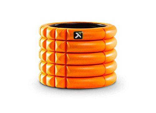 【日本正規品】 トリガーポイント(TRIGGERPOINT) グリッド フォームローラー ミニ オレンジ 筋膜リリース 長さ10cmのコンパクトモデル 04408