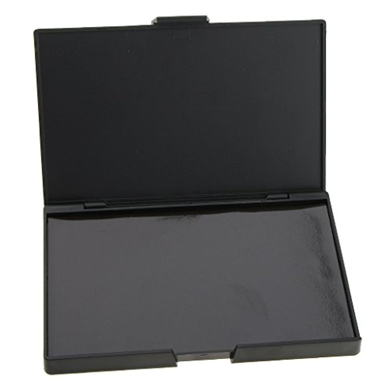 インシデント不潔受け皿磁気パレットボックス 空パレット パン付きパレット 2個 アイシャドウ パウダー メイクケース DIY 磁気パレット 収納ボックス