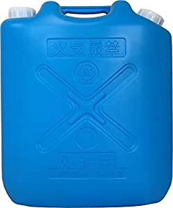 灯油缶 18L ブルー