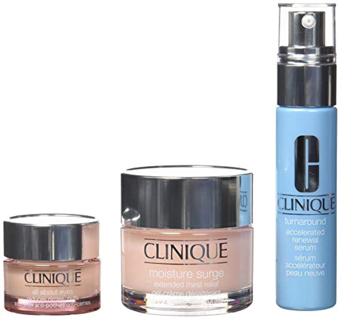 酸弾力性のある口実Clinique Best Sellers Treatment Set - All Skin Types