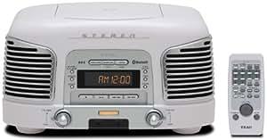 TEAC プレミアムBluetoothスピーカーシステム 2.1ch CD/ラジオ搭載 ホワイト SL-D930-W