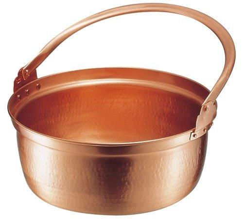 遠藤商事 銅 山菜鍋(内側錫引きなし) 27cm ASV01027