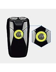 男性用電気かみそり、ダブルカッターヘッドベニアデザイン/スマートピンチひげ、コードレス充電