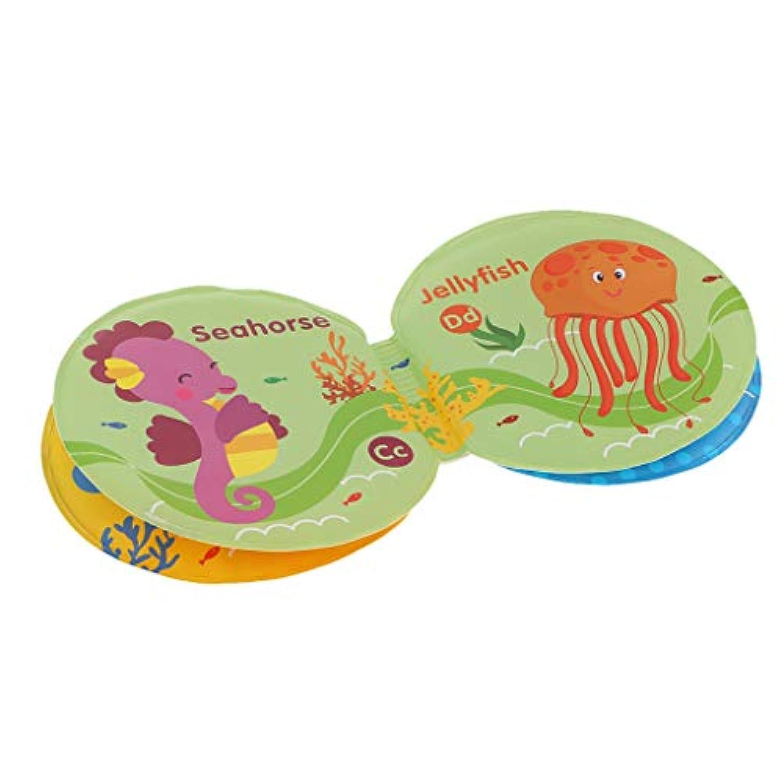 B Baosity 知育玩具 教育玩具 おもちゃ 早期教育 防水 本 保育所?児童館用品 プレゼント 英語学習 数字学習 ブック 円形 全3種 - 海魚