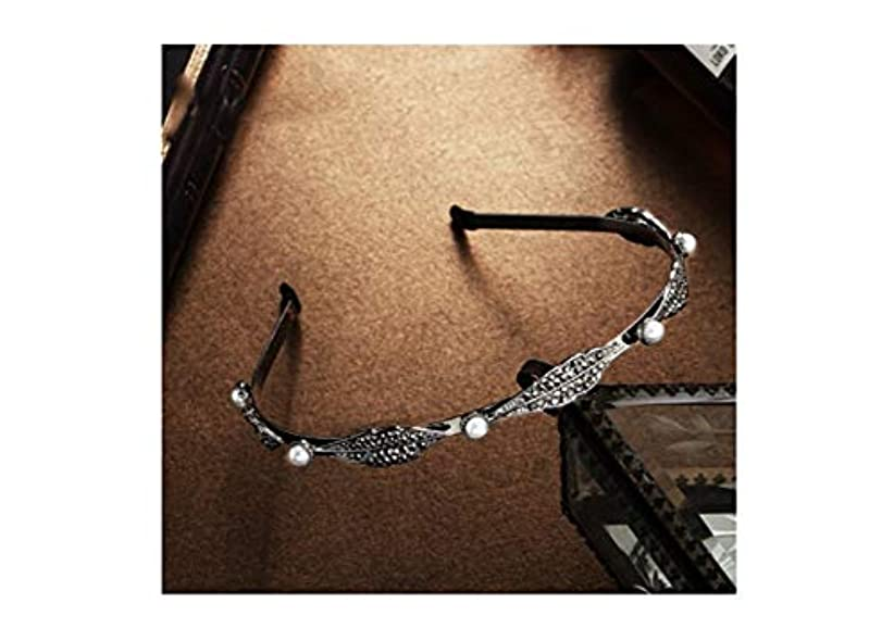 打たれたトラックフェードアンケートYANTING ヘアピン女性の頭飾り細いヘアバンドヘアピンヘアピンレトロヘアアクセサリーヘッド花飾りをオフに落ちることはありません (Size : L)