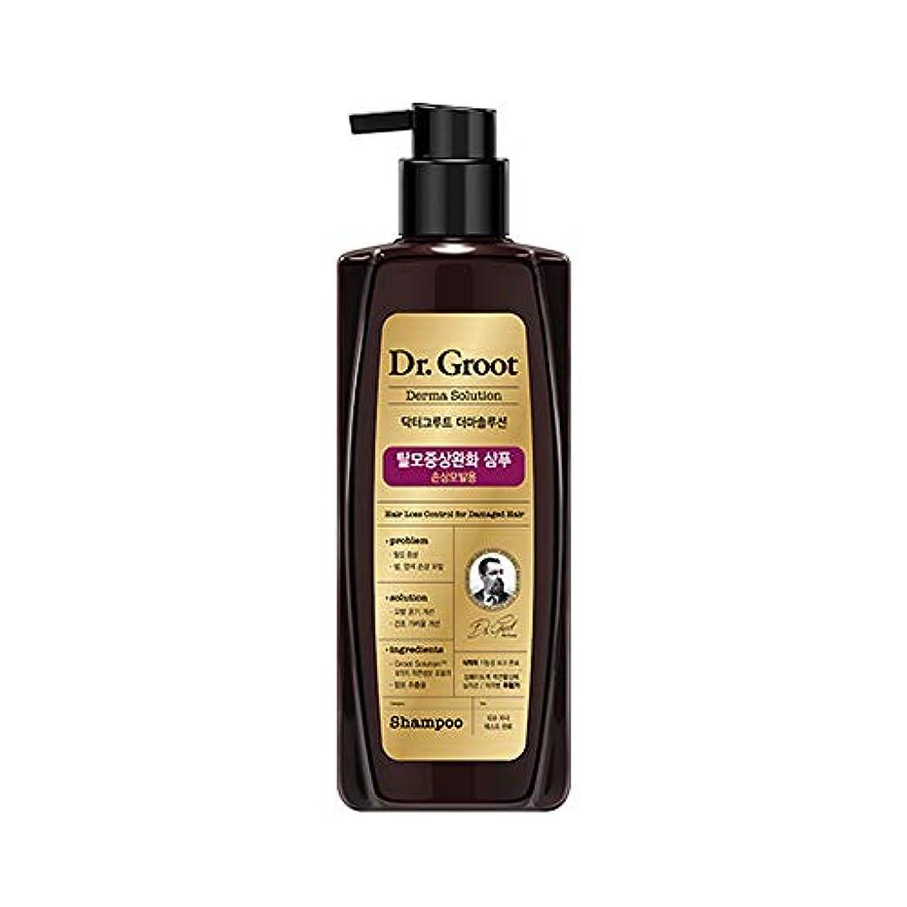 漏れ小麦促進する【Dr.Groot】ドクターグルート Dr.グルート 脱毛防止シャンプー ダメージヘア用 (Anti Hair Loss Shampoo -For damaged hair-)