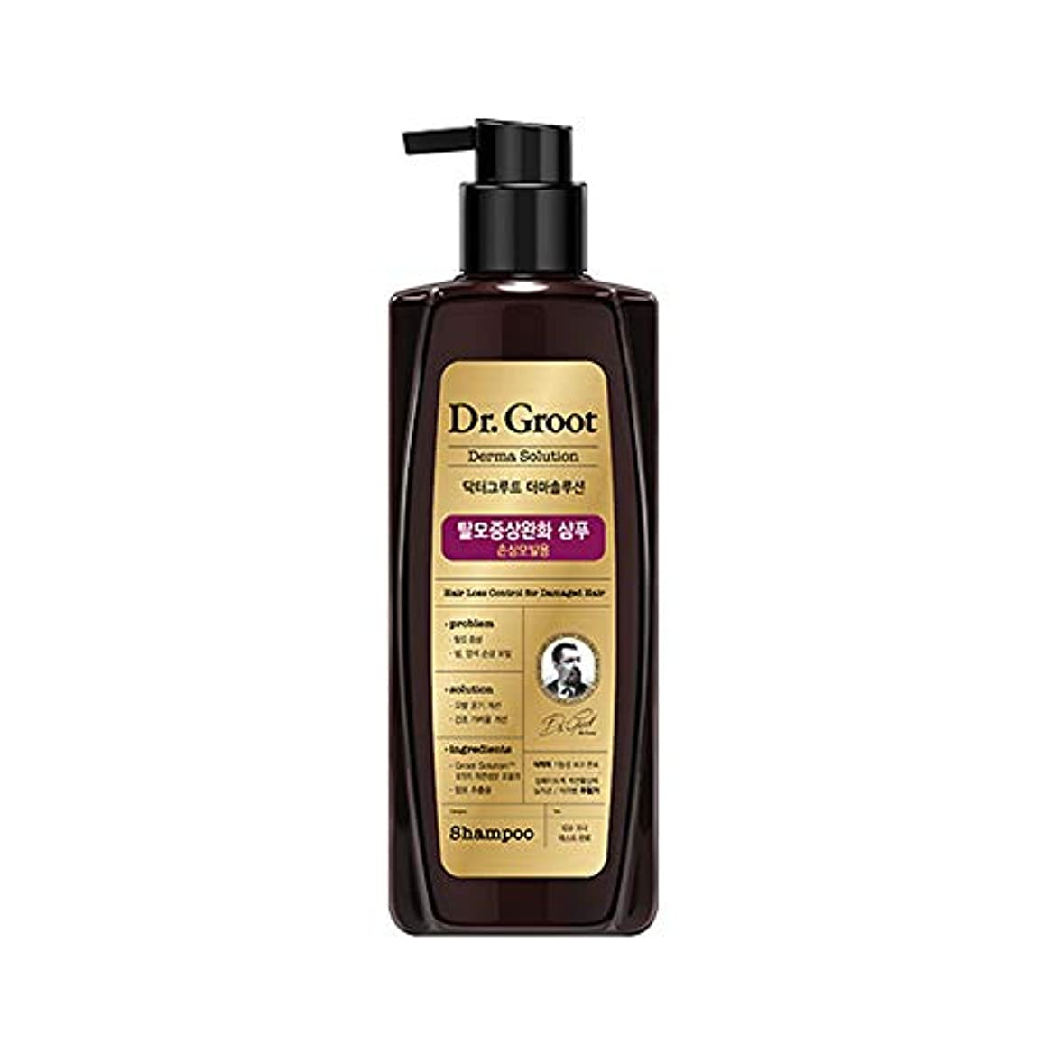 戦略傾いた考える【Dr.Groot】ドクターグルート Dr.グルート 脱毛防止シャンプー ダメージヘア用 (Anti Hair Loss Shampoo -For damaged hair-)