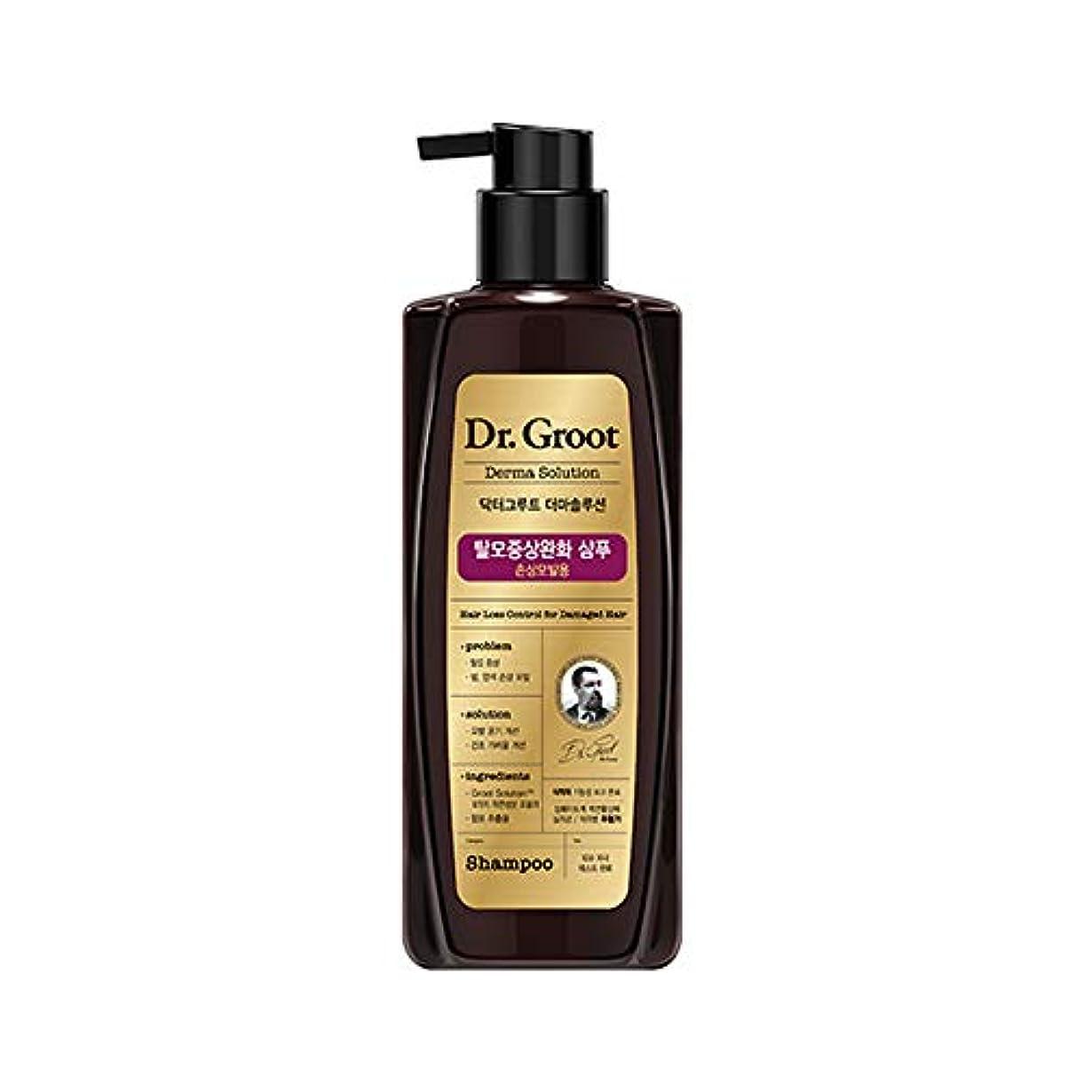 競争ジョグパフ【Dr.Groot】ドクターグルート Dr.グルート 脱毛防止シャンプー ダメージヘア用 (Anti Hair Loss Shampoo -For damaged hair-)