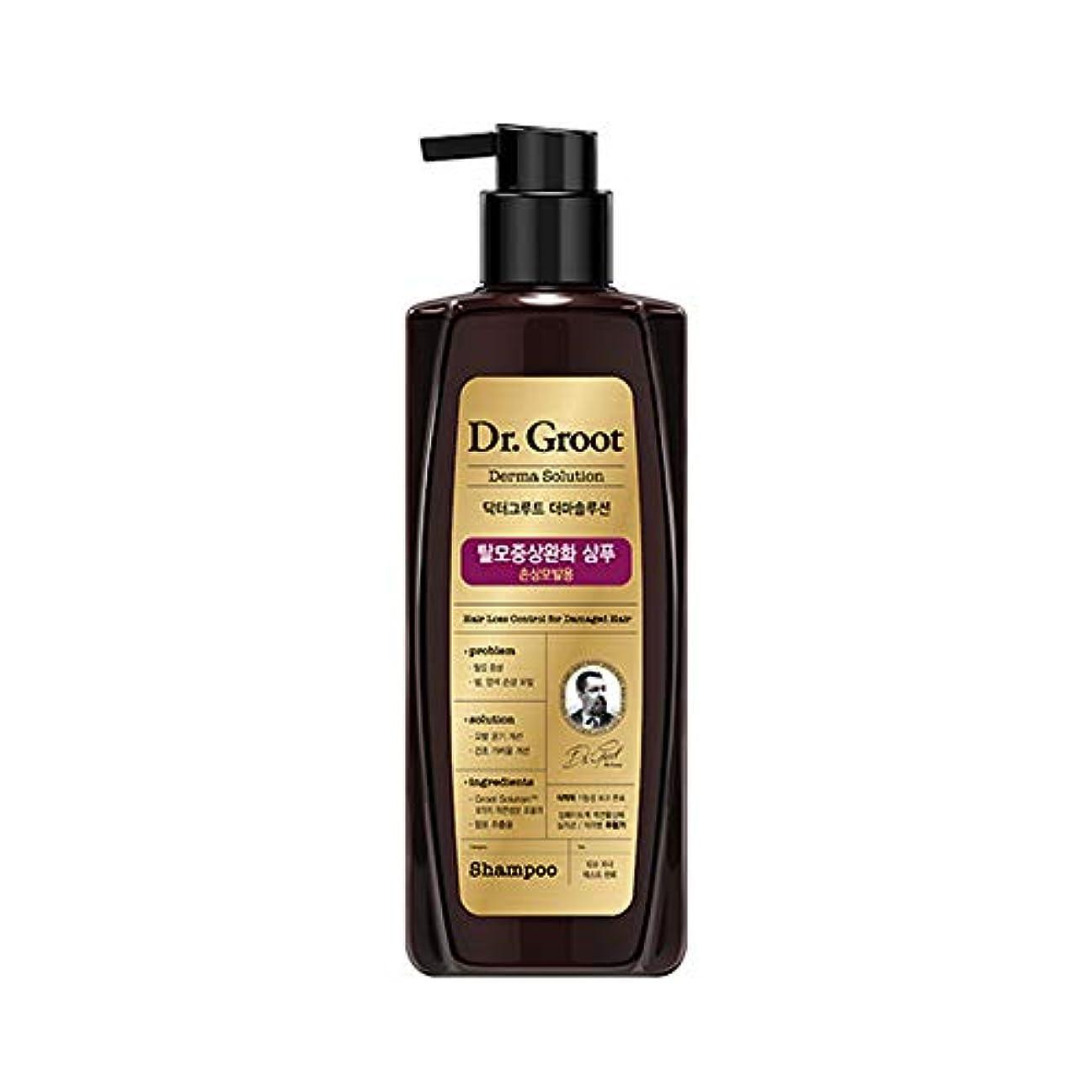 値仮定、想定。推測オーバーコート【Dr.Groot】ドクターグルート Dr.グルート 脱毛防止シャンプー ダメージヘア用 (Anti Hair Loss Shampoo -For damaged hair-)