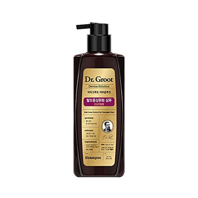 折り目統治可能不規則な【Dr.Groot】ドクターグルート Dr.グルート 脱毛防止シャンプー ダメージヘア用 (Anti Hair Loss Shampoo -For damaged hair-)