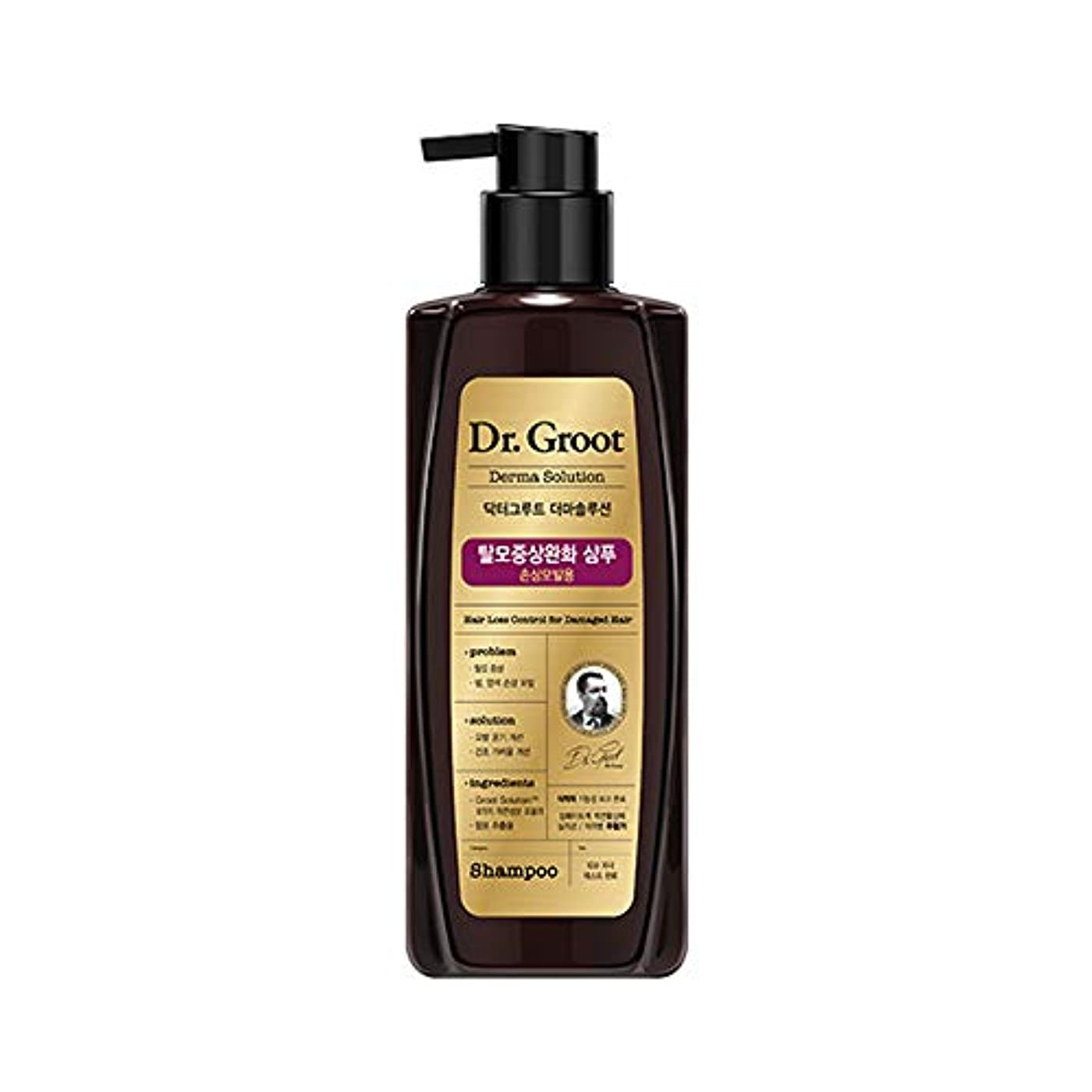 チャンピオンシップくびれた示す【Dr.Groot】ドクターグルート Dr.グルート 脱毛防止シャンプー ダメージヘア用 (Anti Hair Loss Shampoo -For damaged hair-)