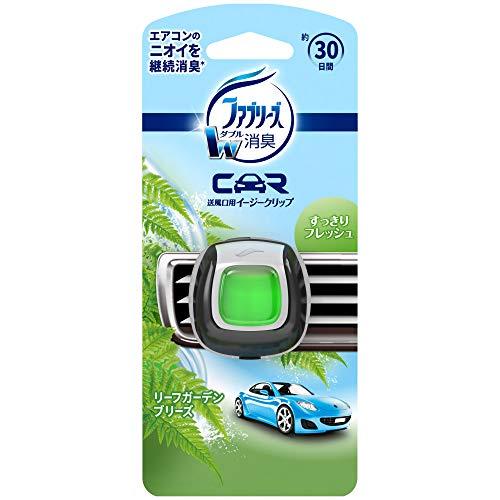 ファブリーズ 車用 クリップ型 消臭芳香剤 イージークリップ リーフガーデンブリーズ 2mL