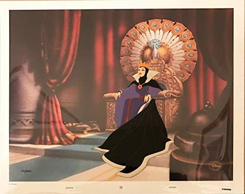 ディズニー 白雪姫 女王 原画 セル画 限定 レア Disney 入手困難