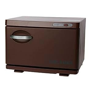 タオルウォーマーSH ブラウン 前開き 7.5L H25×W35×D26.5cm 保温器 業務用