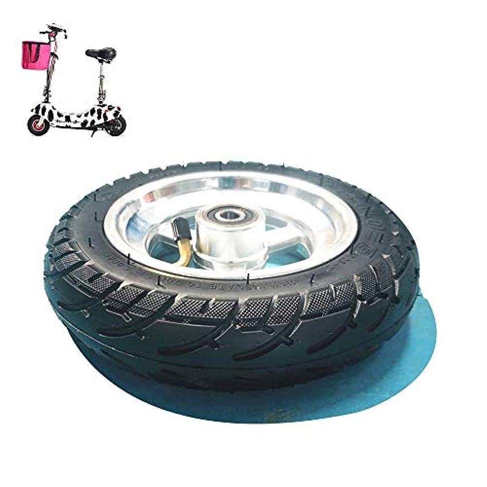 拡散する機関ブルーベル電動スクータータイヤ、8x2.0-5 8インチフルホイールセット、厚い耐摩耗性チューブレスタイヤ、アルミ合金ホイール、10mmベアリング直径