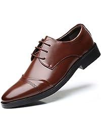 [Visionreast] 革靴 メンズ ビジネスシューズ 皮鞋 ウォーキング 大きいサイズ 靴 走れる 紳士靴 幅広 軽量 柔らかい レースアップシューズ 営業マン 通勤 防滑 24cm-28.5cm