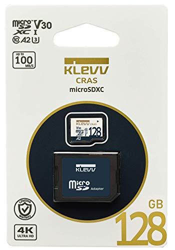 『KLEVV microSDXC 128GB UHS-I U3 V30 A2 最大読込:100MB/s 4K対応 Nintendo Switch 動作確認済 永久保証 K128GUSD6U3-CA』の8枚目の画像