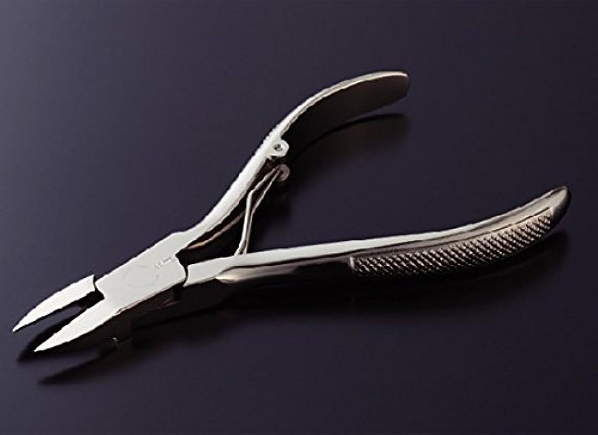 生産的故意の決して光月作手作りニッパ型爪切り巻き爪用